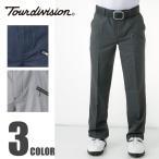 ツアーディビジョン Tour division ゴルフウェア メンズ 小柄千鳥ストレートパンツCM TD220107F01