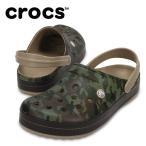 クロックス crocs サンダル メンズ Crocband Camo II Clog クロックバンド カモ 2.0 クロッグ 204091-2G9 広瀬すず od