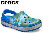 クロックス crocs クロックサンダル メンズ Crocband Printed Clog クロックバンド プリンテッド クロッグ 205834-4JU od