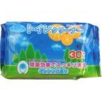 昭和紙工 トイレクリーナー 30枚 オレンジの香りのトイレクリーナー 除菌タイプ