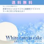 送料無料低糖質ホワイトキャンバスケーキ