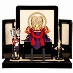 五月節句 男の子 五月人形 五月人形 兜飾り 武田信玄 家紋屏風 送料無料