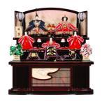 雛人形 5人三段飾り 桜祇園(さくらぎおん)セット曙塗金彩のし屏風 sb-2-32