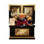 五月人形 K-15 武田信玄 着用兜 収納飾り 【人形の佳月】【送料無料】