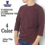 WAREHOUSE(ウエアハウス) Lot.4049E 3/4 フリーダムTシャツ 4049E