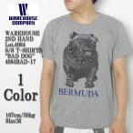"""WAREHOUSE(ウエアハウス) 2nd ハンド Lot.4064 半袖Tシャツ """"BAD DOG"""" 4064BAD-17"""