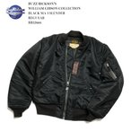 BUZZ RICKSON'S(バズリクソンズ) WILLIAM GIBSON COLLECTION BLACK MA-1 SLENDER(レギュラー) BR12666