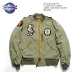 BUZZ RICKSON'S(バズリクソンズ) L-2 CIVILIAN MODEL ARMY SECURITY AGENCY BR13904