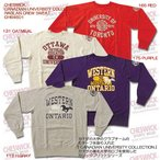 CHESWICK(チェスウィック) CANADIAN UNIVERSITY COLLECTION RAGLAN CREW SWEAT CH64601