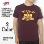 """CHESWICK(チェスウィック) 半袖Tシャツ """"ILLINOIS BASKETBALL"""" CH77650H"""