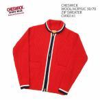 CHESWICK(チェスウィック) ウール/アクリル 30/70 ジップ セーター CH90141