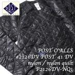 POST O'ALLS(ポストオーバーオールズ) #2126DV POST 41 DV nylon / nylon quilt P2126DV-NQ1