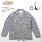 SUGARCANE(シュガーケーン) 11オンス ヒッコリー ストライプ ワークコート SC13824