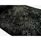 着物のはぎれ 泥大島紬 手織縦横絣 27-11 50cm単位反物の切り売り