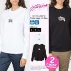 ステューシー レディース Stussy Women Tシャツ 長袖 ロンT Prism Logo LS Tee