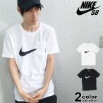 メール便送料270円 NIKE SB ナイキ Tシャツ 半袖 Tシャツ メンズ レディース 黒 ポケットTシャツ スウッシュロゴ