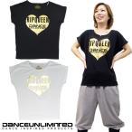 ダンス Tシャツ ズンバウェア  レディース トップス ダンスウェア ドルマン Tシャツ ダンス 衣装 ヒップホップ ダンスアンリミテッド