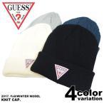 GUESS ゲス キャップ ニットキャップ ニット帽 CAP レディース メンズ 帽子 トライアングルロゴ