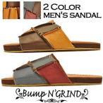 Bump N' GRIND バンプアンドグラインド メンズ サンダル 本革 サンダル メンズ靴