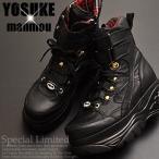 YOSUKE U.S.A ヨースケ 厚底ブーツ 厚底スニーカー ブーツタイプ レディース ハイカット