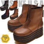ショッピング厚底 厚底ブーツ レディース ハイソール 本革 YOSUKE ヨースケ 靴 ※(予約)は3営業日内に発送