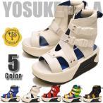 ショッピングブーツサンダル 予約販売 YOSUKE U.S.A ヨースケ 厚底ブーツ ショートブーツ 厚底ブーツサンダルスニーカーブーツ