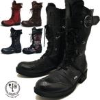 YOSUKE U.S.A ヨースケ 厚底 靴 メンズ レースアップブーツ ミドル丈 編み上げ  ヒールブーツ メンズ 靴 ※(予約)とあるものは3営業日内に発送