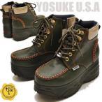 YOSUKE U.S.A ヨースケ 厚底スニーカー プラットフォームスニーカー 厚底ブーツ ※ご注文後2~4日後のお届けです!