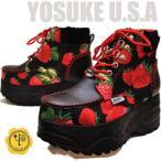 限定カラー!YOSUKE U.S.A ヨースケ厚底スニーカー ハイカット レディース ※(予約)は3営業日内に発送