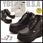 YOSUKE U.S.A ヨースケ メンズ 厚底スニーカーブーツ ハイカット  ※(予約)は3月下旬入荷分予約販売