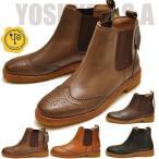 YOSUKE U.S.A ヨースケ ブーツ サイドゴアブーツ ショートブーツ クレープソール 本革