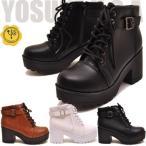 YOSUKE U.S.A ヨースケ 厚底ブーツ  ショート  レディース ゴスロリ コスプレ ※(予約)は3営業日内に発送