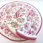 ラウンドタオル 丸いタオル かわいい おしゃれ 花柄 マルチカバー 薔薇雑貨 姫系雑貨 メール便送料無料