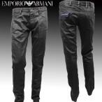 EMPORIO ARMANI エンポリオ アルマーニ メンズ コーティング デニム ジーンズ TNJ07 FD 12 NERO BLACK ブラック