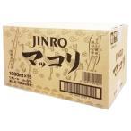 眞露 ジンロ マッコリ 1000ml BOX (15本入)