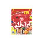 韓国ラーメン ジンラーメン辛口120g 5袋入り