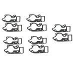 【USA在庫あり】 0934-4694 C9392 コメティック COMETIC オイル ポンプ カバー ガスケット 68年-80年 ショベルヘッド (10個入り)