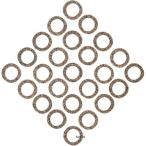 【USA在庫あり】 0934-4713 C9598 コメティック COMETIC プッシュロッド カバー ガスケット スモール 36年-79年 ショベルヘッド 57年-79年 XL (25個入り)