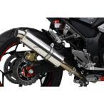 【メーカー在庫あり】 134060 ポッシュ POSH PF-M スリップオンマフラー 13年-16年 Ninja250、Z250 ステンレス