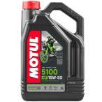 【即納】 3601-0063 3082GAA モチュール MOTUL 5100 半化学合成 4スト エンジンオイル 15W50 1ガロン(3.8L)