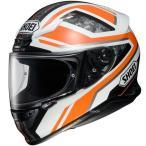 4512048464745 ショウエイ SHOEI フルフェイスヘルメット Z-7 PARAMETER パラメーター TC-8 オレンジ/白 Sサイズ(55cm)
