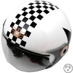 【メーカー在庫あり】 4582190320688 ダムトラックス DAMMTRAX ヘルメット POPO GT 子供用 白/スター キッズサイズ(54cm-56cm)