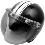4950545390615 セプトゥ CEPTOO ヘルメット スモールジェット CS-712 ブラックホワイト フリーサイズ