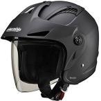 4980579001539 マルシン工業 Marushin ジェットヘルメット M-385 マットブラック フリーサイズ(57-60cm未満)