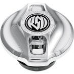 【USA在庫あり】 RD3481 0210-2008-CH ローランドサンズデザイン RSD 燃料計側ダミー キャップ 左側 カフェ クローム