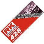 【USA在庫あり】 RKM428130 M428-130 アールケー RK Racing スタンダードチェーン ノンシール クリップ M428/130L