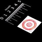 【メーカー在庫あり】 000-0099008 キタコ ぷっくりシール メインキーボックス用 SF-RED