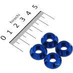 【メーカー在庫あり】 004086-01 ポッシュ POSH キャップホルダー NASAタイプ M6用 4個入り 青