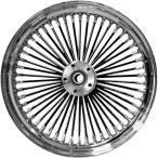 【USA在庫あり】 0203-0355 DRAG フロント ホイール 50本スポーク 21x3.5 08年以降 FLH(ABS無し) デュアルディスク 黒