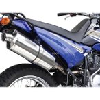 04-02-0242 SP武川 パワーサイレントオーバルマフラー XTZ125 スリップオンタイプ